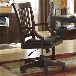 Ashley Signature Design Hindell Park Home Office Desk Chair H695 01a