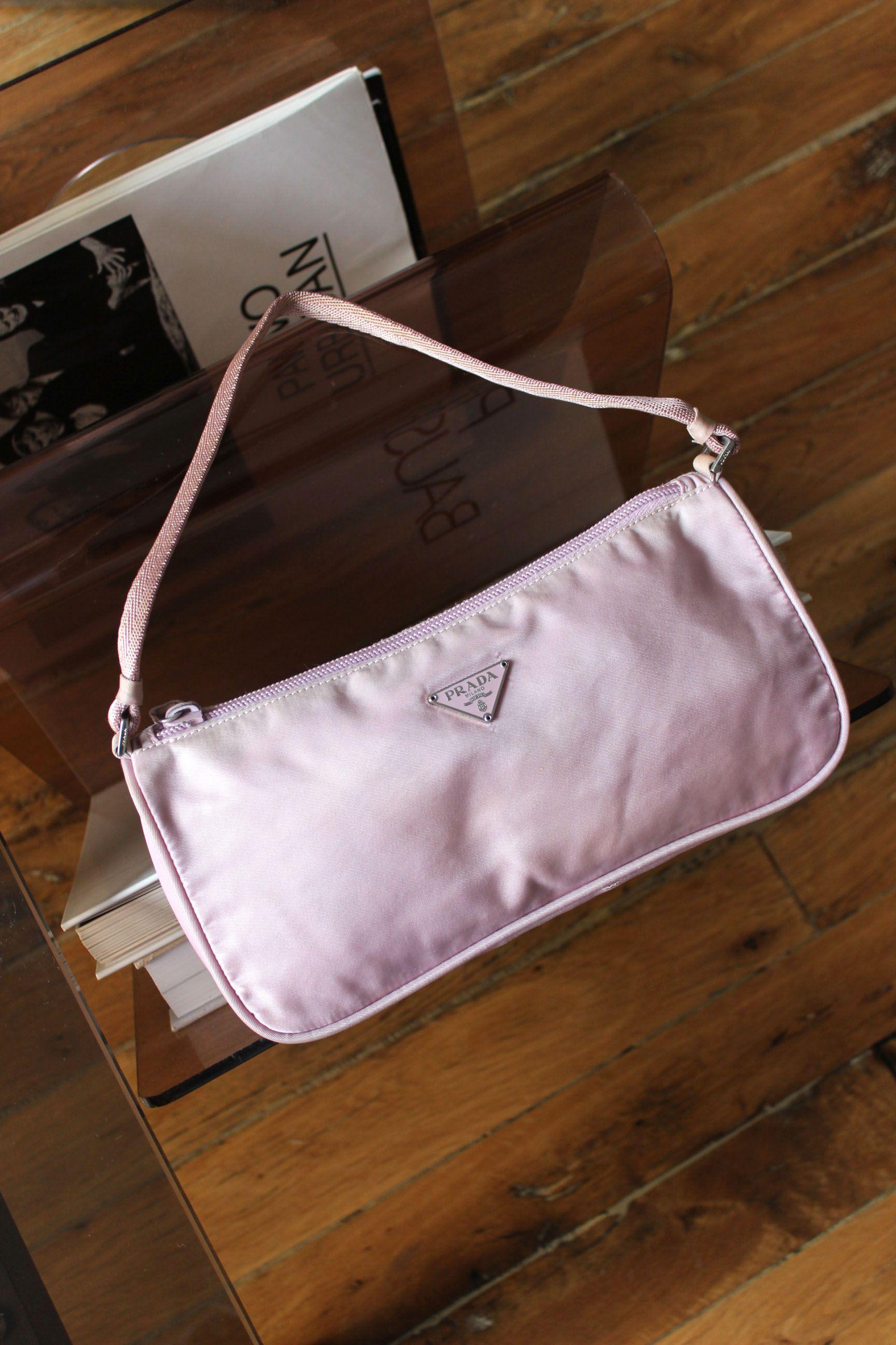 07c0a6cc6812 Instagram; kardelennozturk Pinterest; kardelennozturk Nylon Bag, Prada Bag,  Vintage Bags, Baguette
