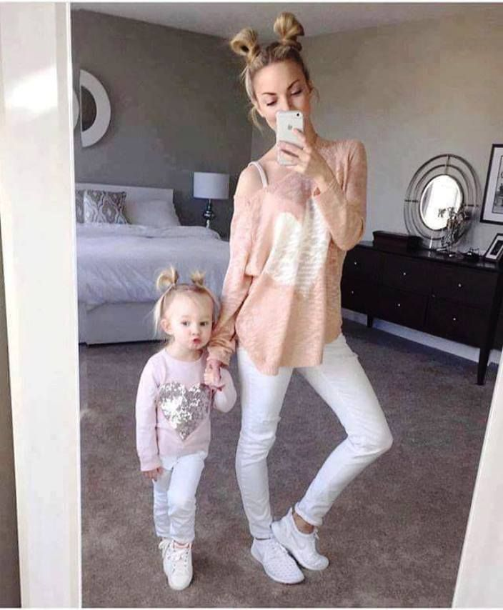 Ideas About Easy Mom And Baby Girl Hairstyles