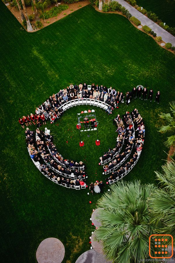Pin By Karen Colindres On Eco Weddings Wedding Ceremony Seating Southwest Wedding Circular Wedding Seating