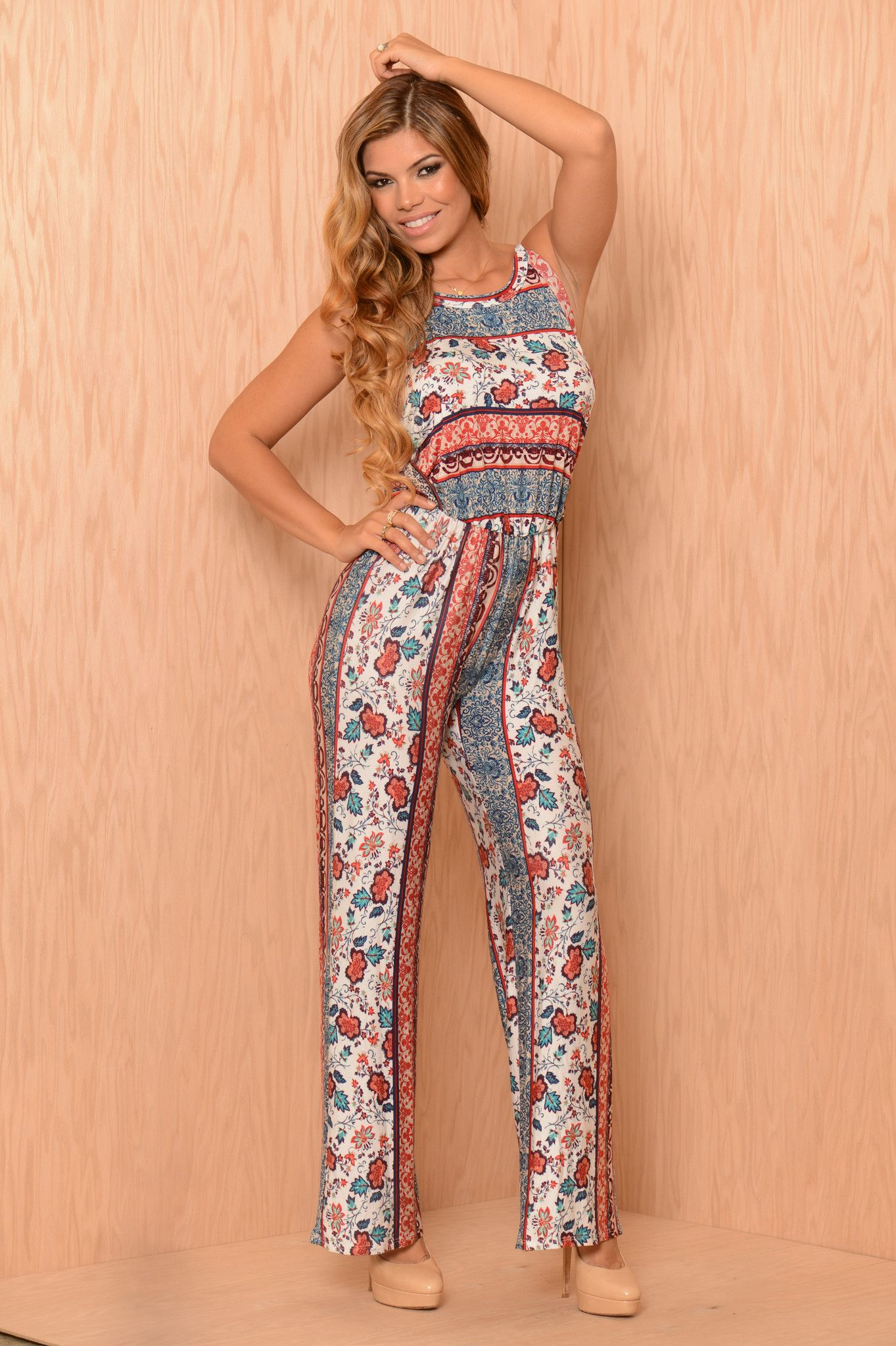 Tea Party Jump Suits