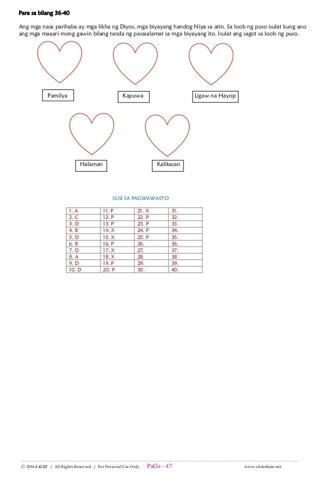 K TO 12 GRADE 4 IKAAPAT NA MARKAHAN DIAGNOSTIC PRE TEST G
