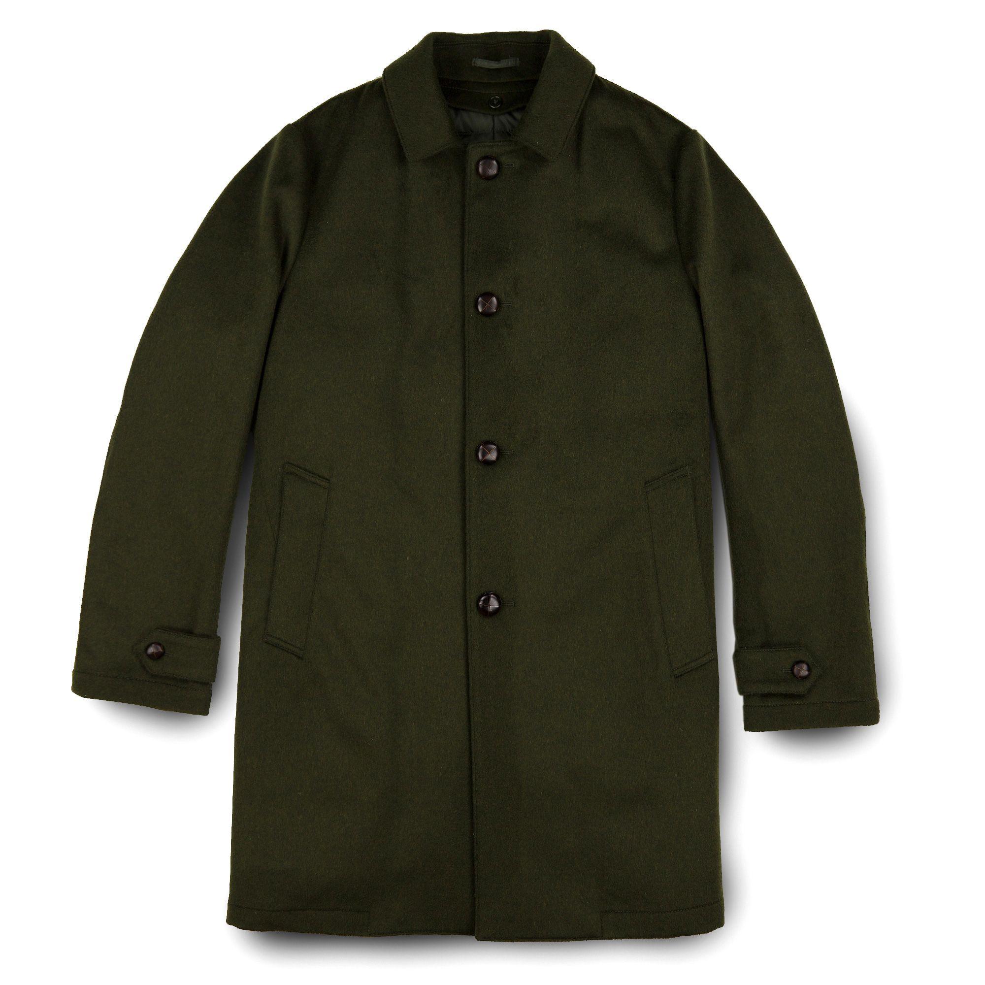 84c7b8535c7f5 Aspesi Perfetto Loden Coat | Coats | Wool coat, Coat, Wool