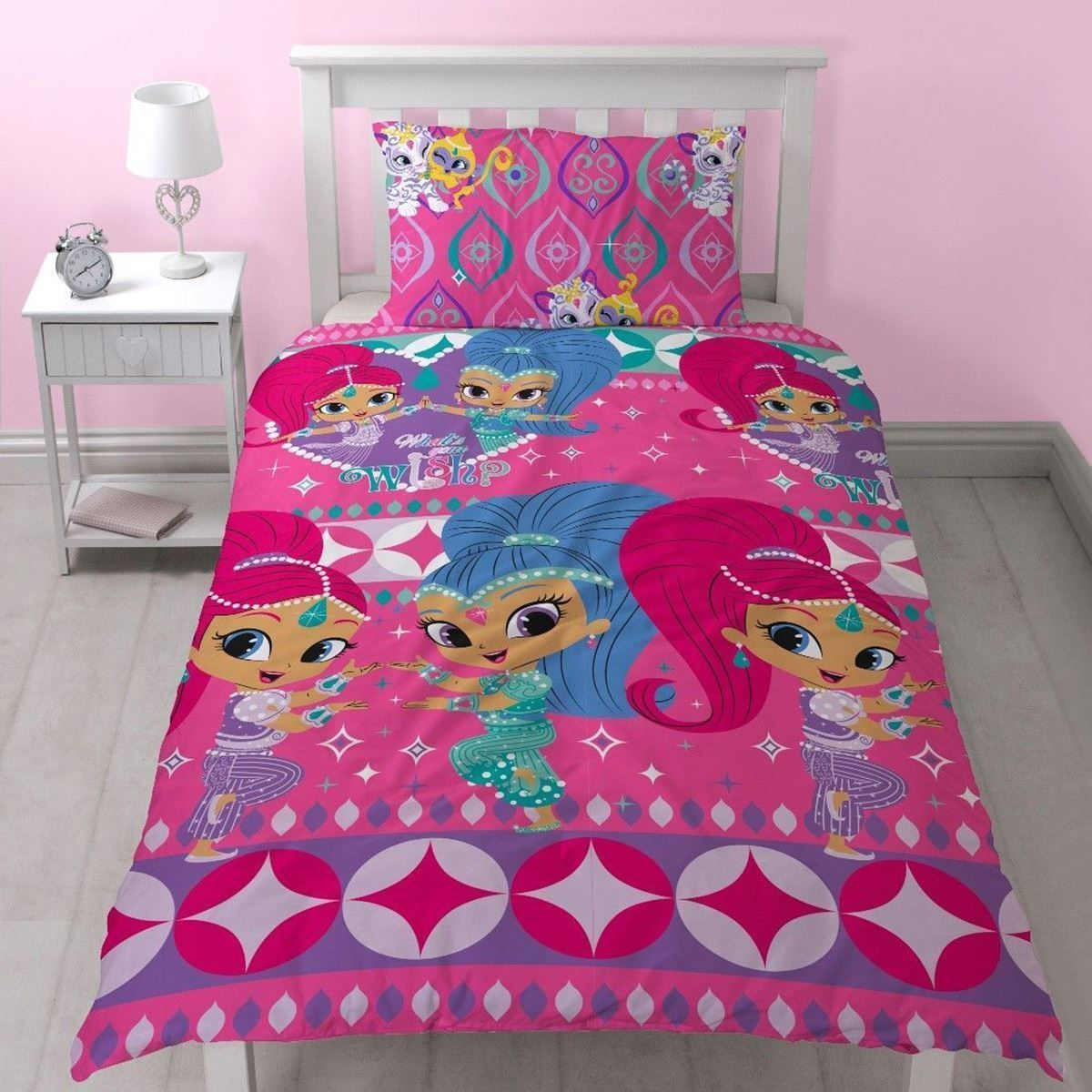 Shimmer & Shine Zahramay Single Quilt cover set. Available at Kids ...