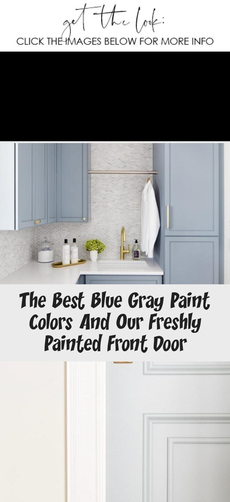 These Benjamin Moore Cloudy Sky laundry room cabinets are the perfect example of a blue gray paint colors! #laundryroom #laundryroomLayout #Bluelaundryroom #Modernlaundryroom #laundryroomEntryWay #laundryroomDoor #graylaundryrooms These Benjamin Moore Cloudy Sky laundry room cabinets are the perfect example of a blue gray paint colors! #laundryroom #laundryroomLayout #Bluelaundryroom #Modernlaundryroom #laundryroomEntryWay #laundryroomDoor #graylaundryrooms
