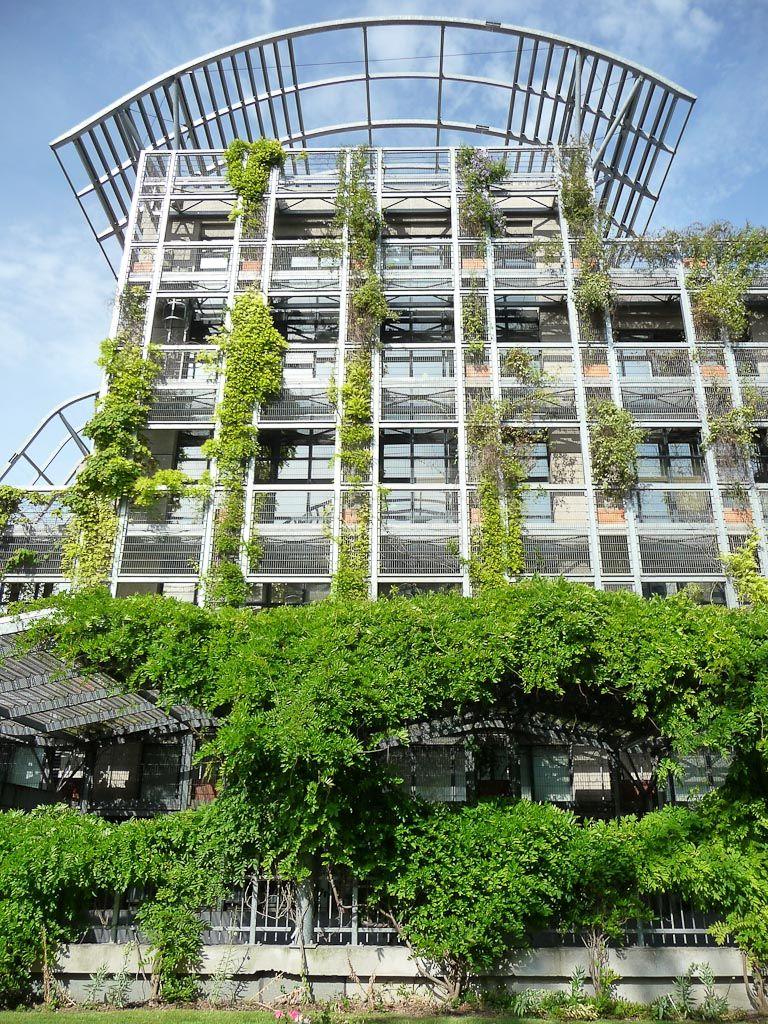 Super Les immeubles végétalisés autour du jardin Biopark (Paris 13e  WJ67