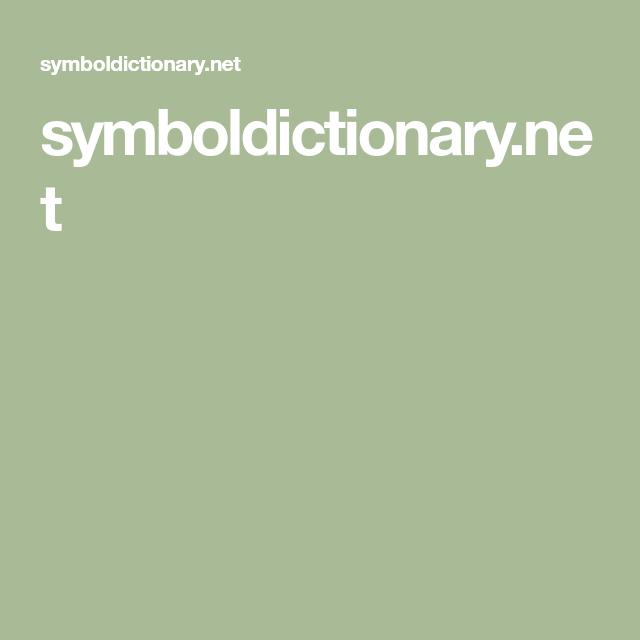 Symboldictionary Mythology Archetypes Pinterest Symbol