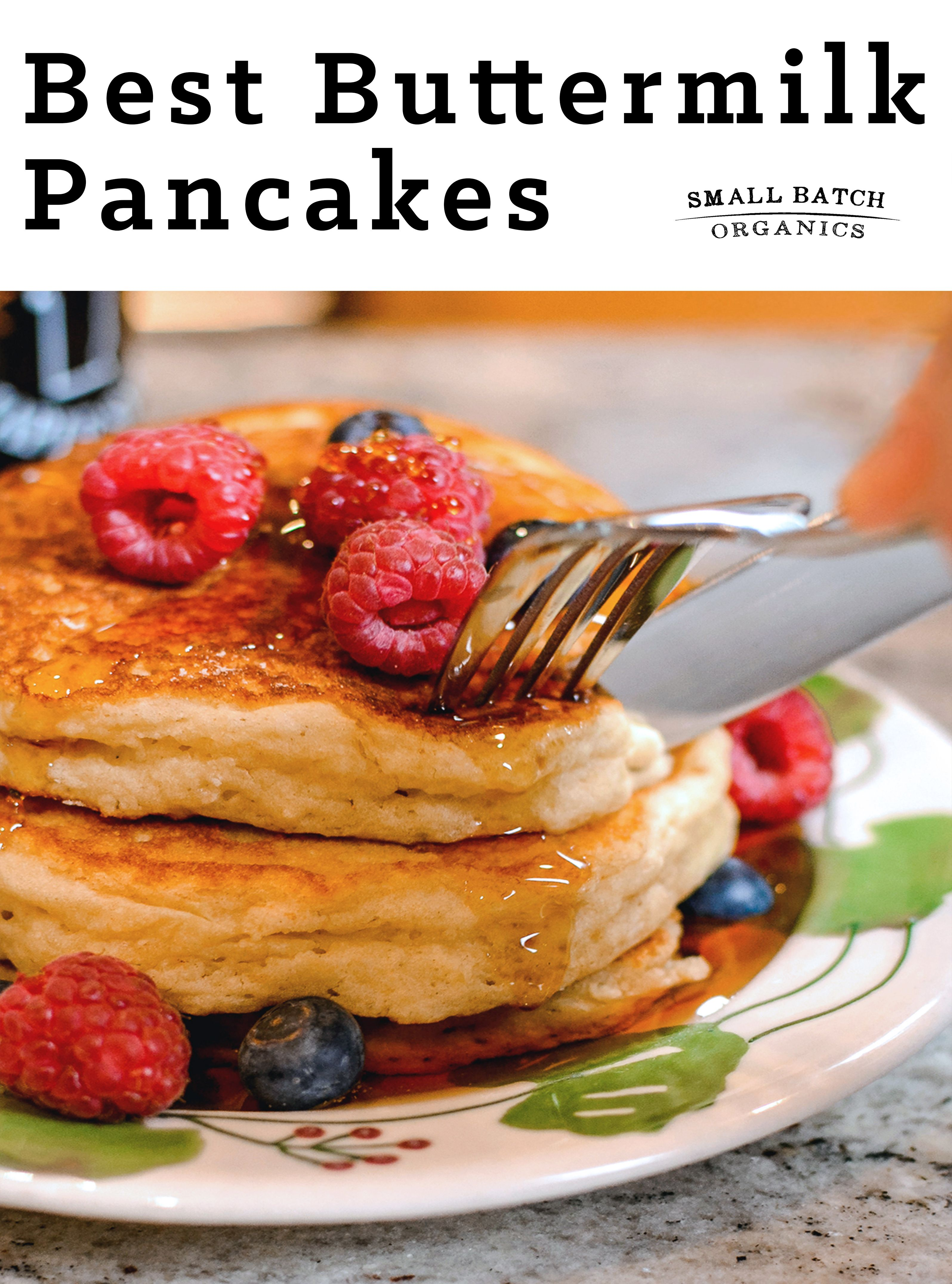 Buttermilk Pancakes Small Batch Recipe In 2020 Buttermilk Pancakes Yummy Breakfast Pancakes
