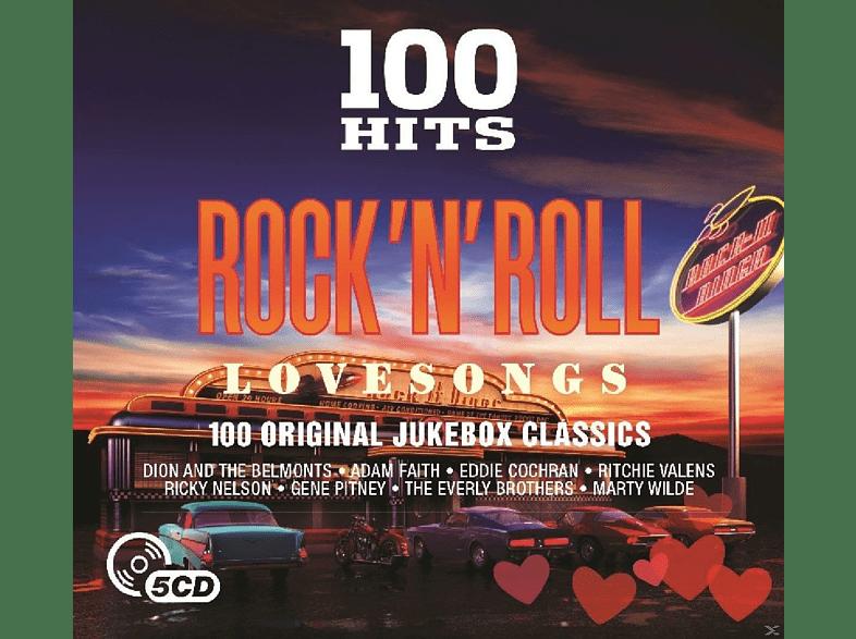 100 Hits Rock N Roll-Love Songs