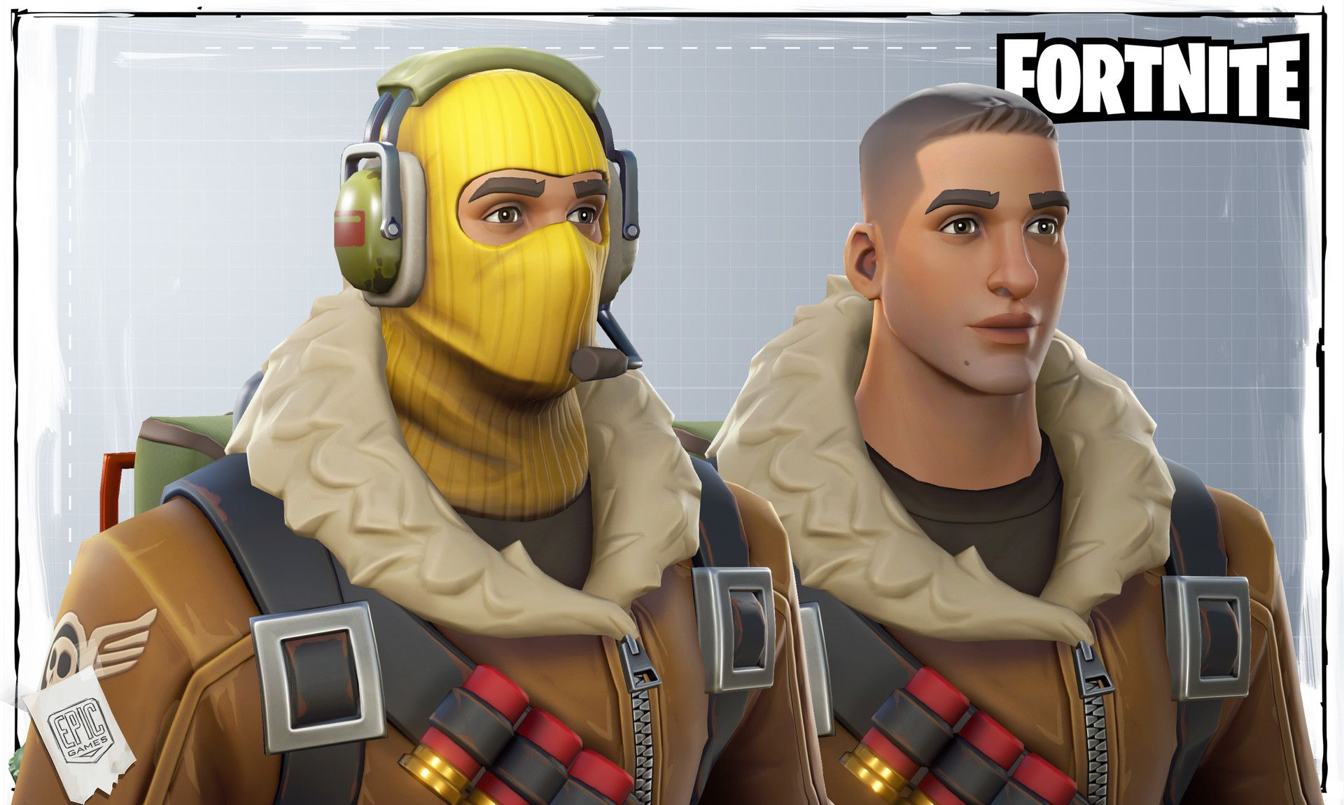 This Was Our Very First Task On Epic Games Fortnite A Skin For The