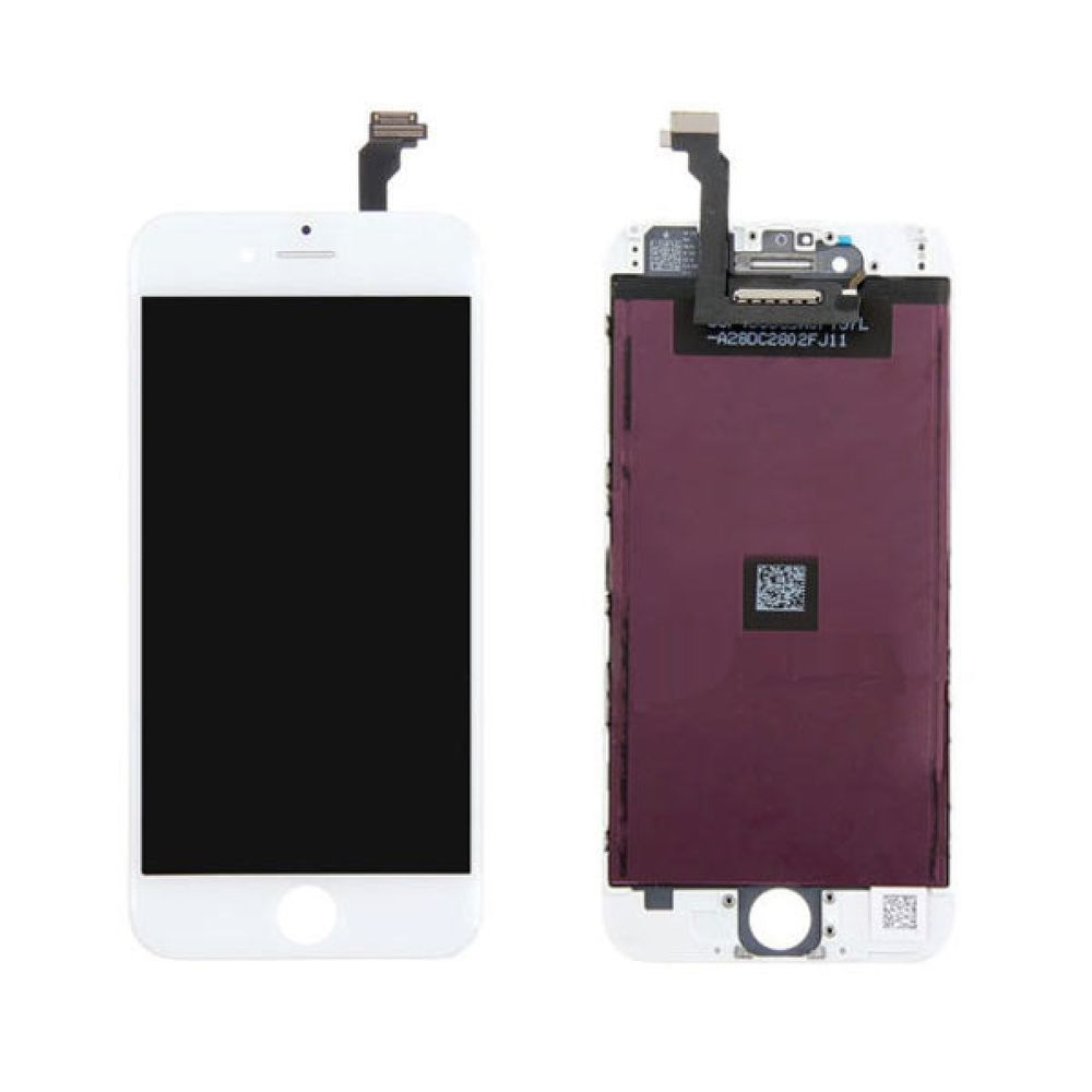 pretty nice dcdf9 36dcb Mobile LCD Display + Touch Screen Digitizer for iPhone 6 (White ...