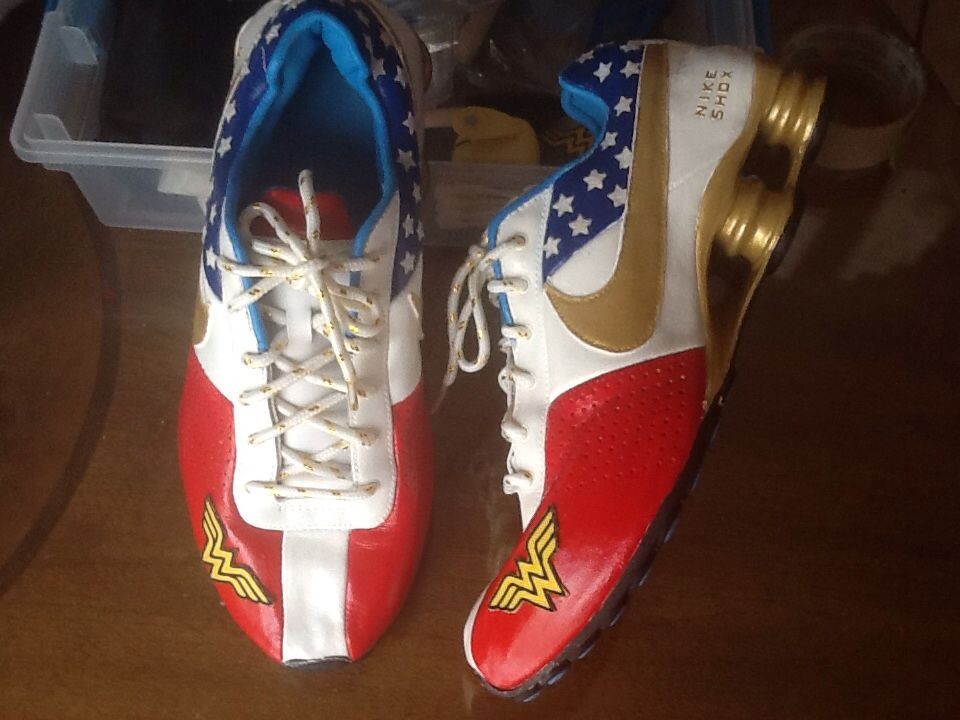 best service 6dab0 c47c4 Wonder Woman Nike shox!