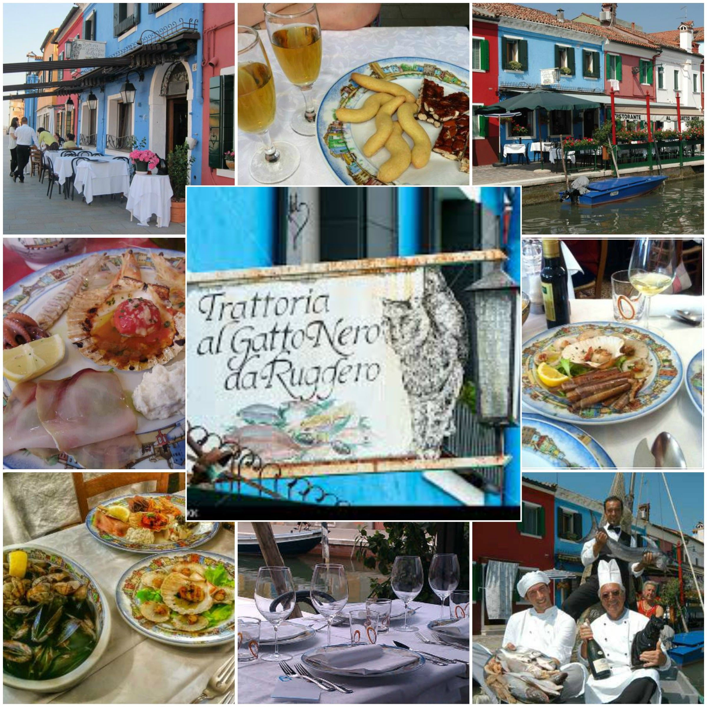 Al Gatto Nero Da Ruggero Burano Italy Day 14 Dinner Italy