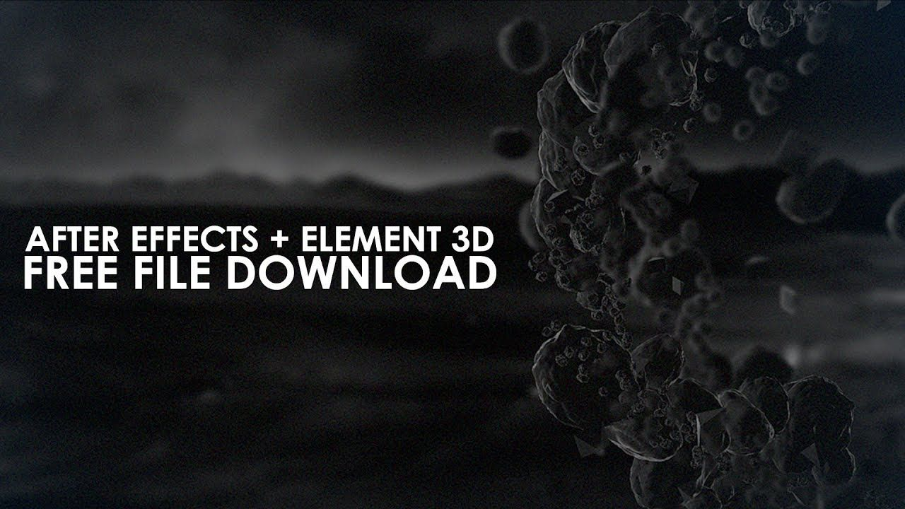 Free Element D Animation After Effects Project FileTemplate - After effects animation templates free download