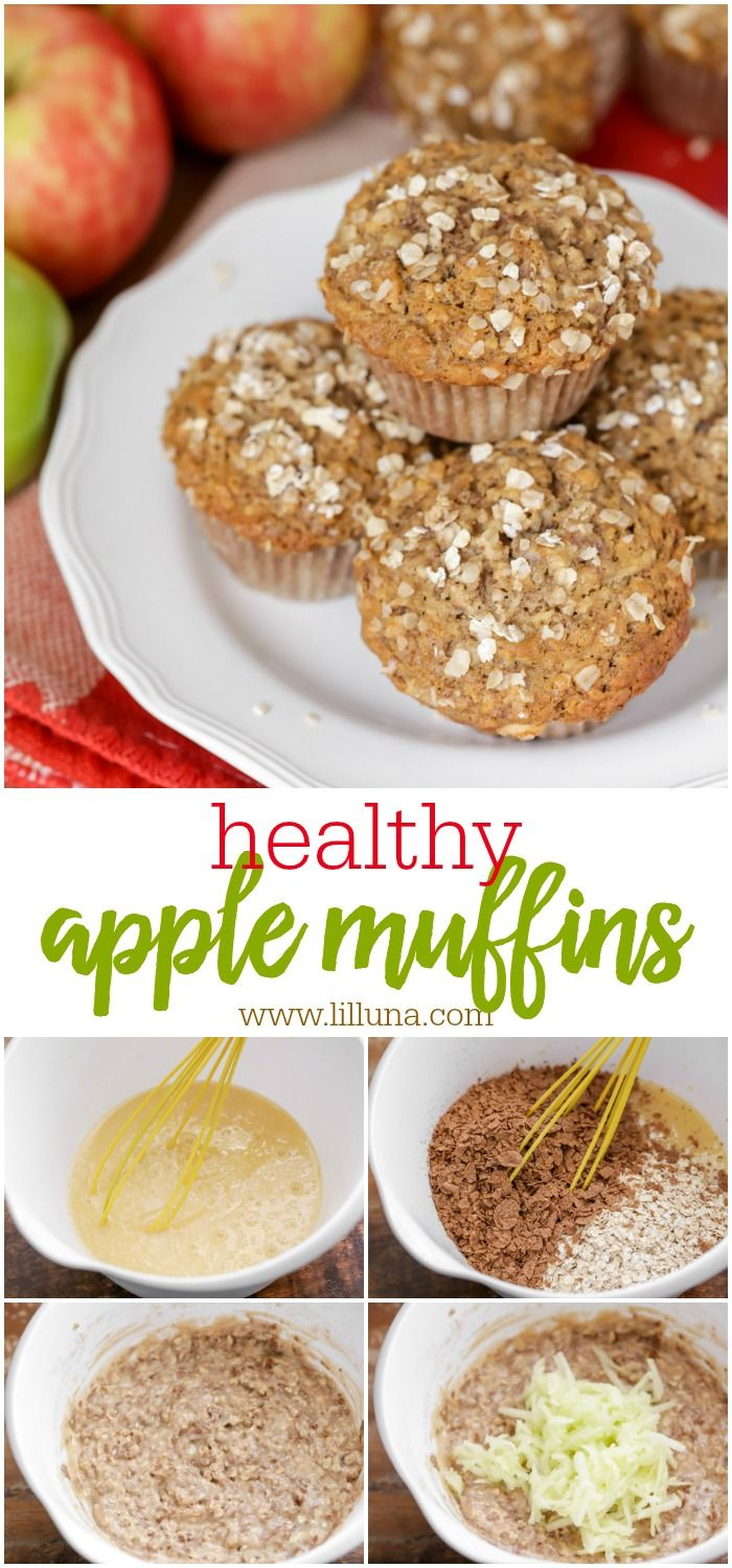 Healthy Apple Muffin images