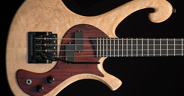 Les Claypool's Pachyderm Bass Maple 4 String Bass
