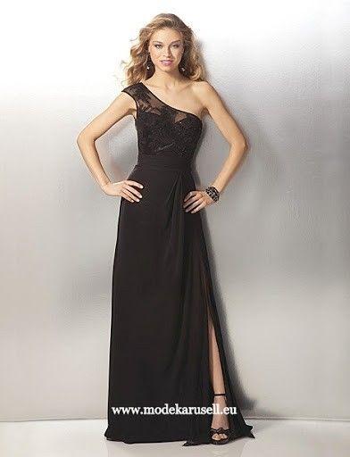 Unwiderstehliches Abendkleid in Schwarz | Abendkleid ...