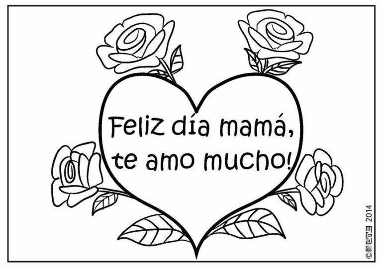 Imagenes Para Colorear Feliz Dia Mama Tarjetas Del Dia De Las Madres Dia De Las Madres Feliz Dia De La Madre