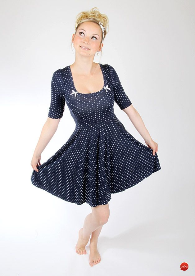 kleid 60er jahre stil