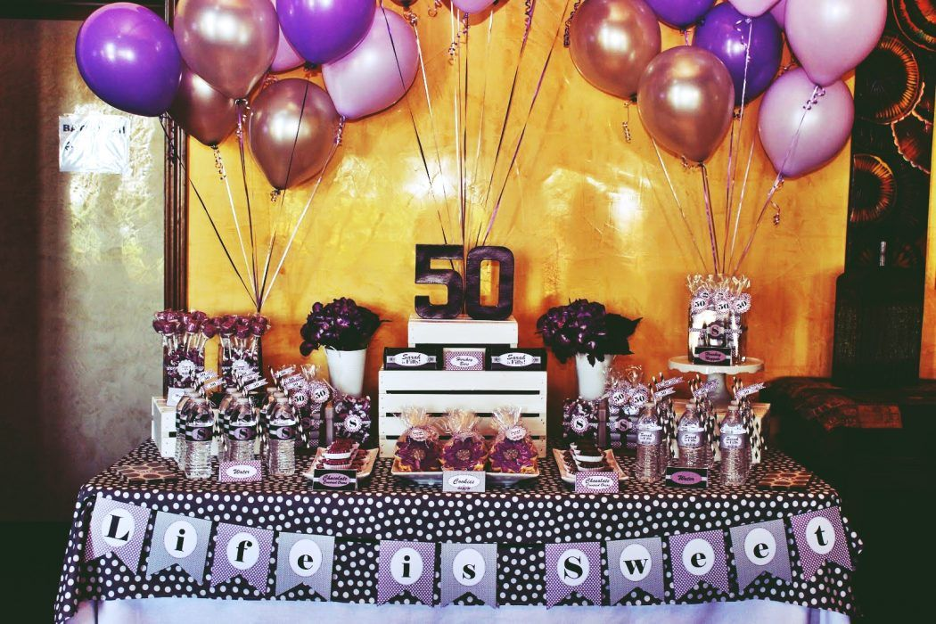Perfect 50th Birthday Party Themes for You 50th birthday