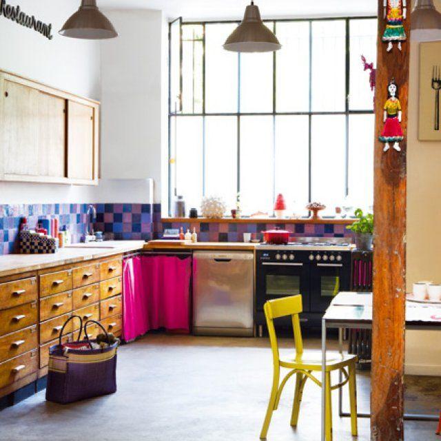 cuisine vintage : + de 15 idées déco pour lui donner un style récup' - Idee Deco Cuisine Vintage