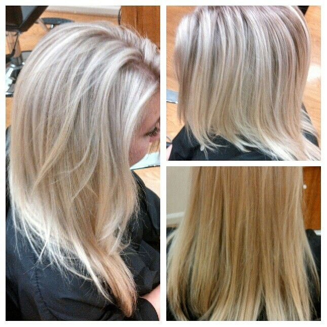 Blonde Highlights With An Ash Toner Blonde Hair Inspiration
