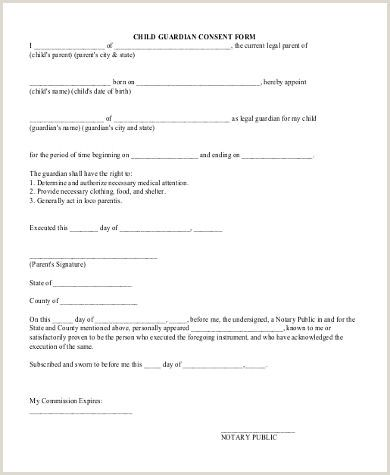 Guardian Authorization Letter For School Guardianship Legal Guardianship Power Of Attorney Form