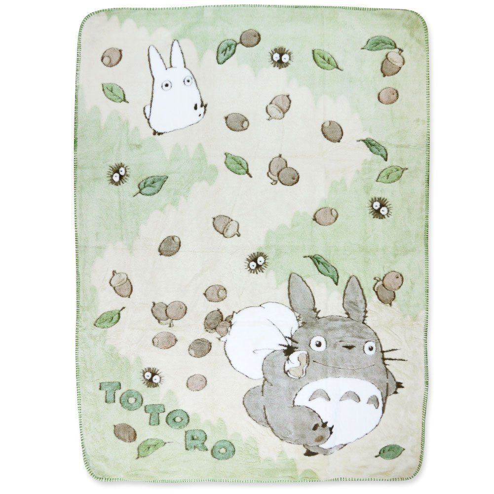 Totoro Bettwäsche Amazon Totoro Plush Blanket Acorn Sac Bedding Bath