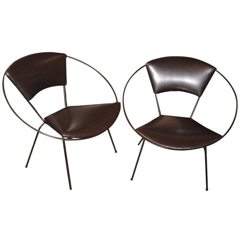 Modern · Pair Of Circle Chairs ...