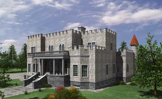European Style Floor Plans Country Style House Plans Monster House Plans Castle House Plans