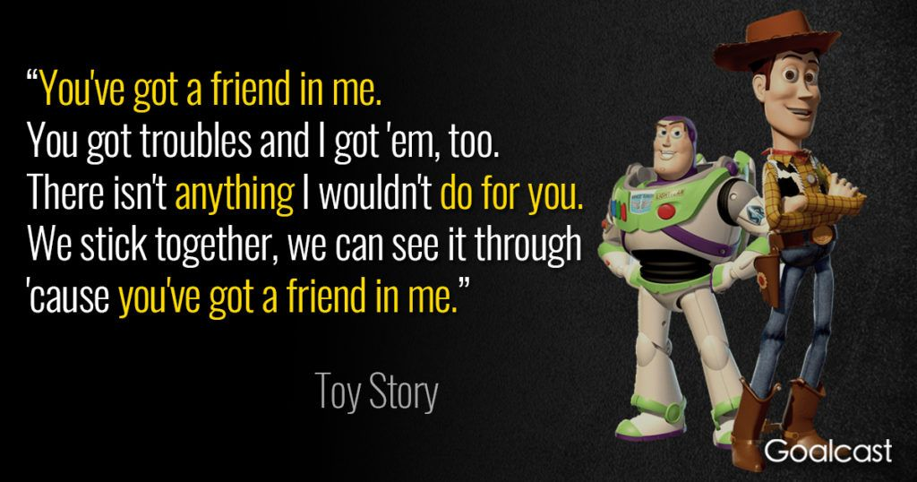 Top 11 Toy Story Quotes About Friendship Toy Story Quotes Friendship Quotes Funny Friendship Quotes