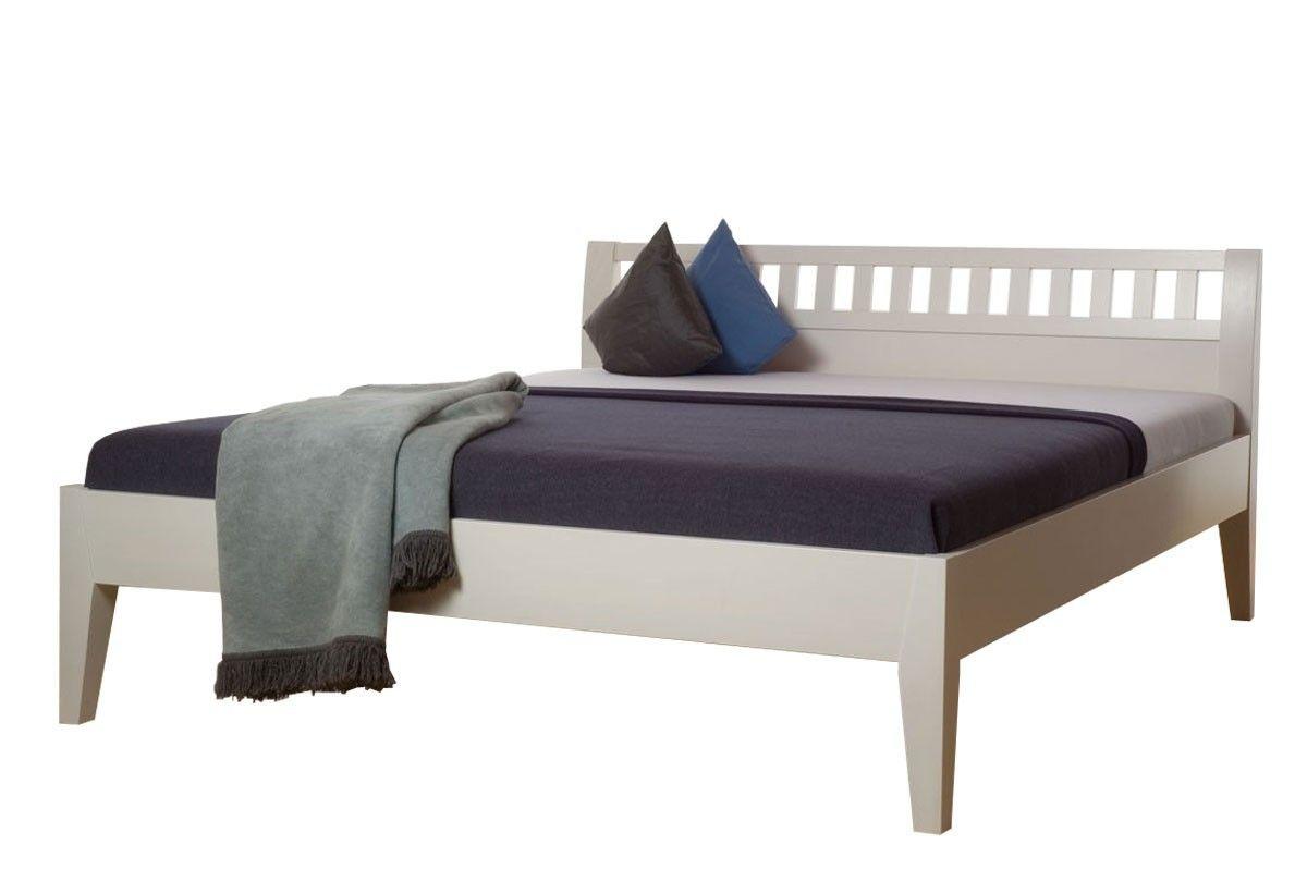 Schön Bett 160x200 Weiß Holz Deutsche Bed Furniture