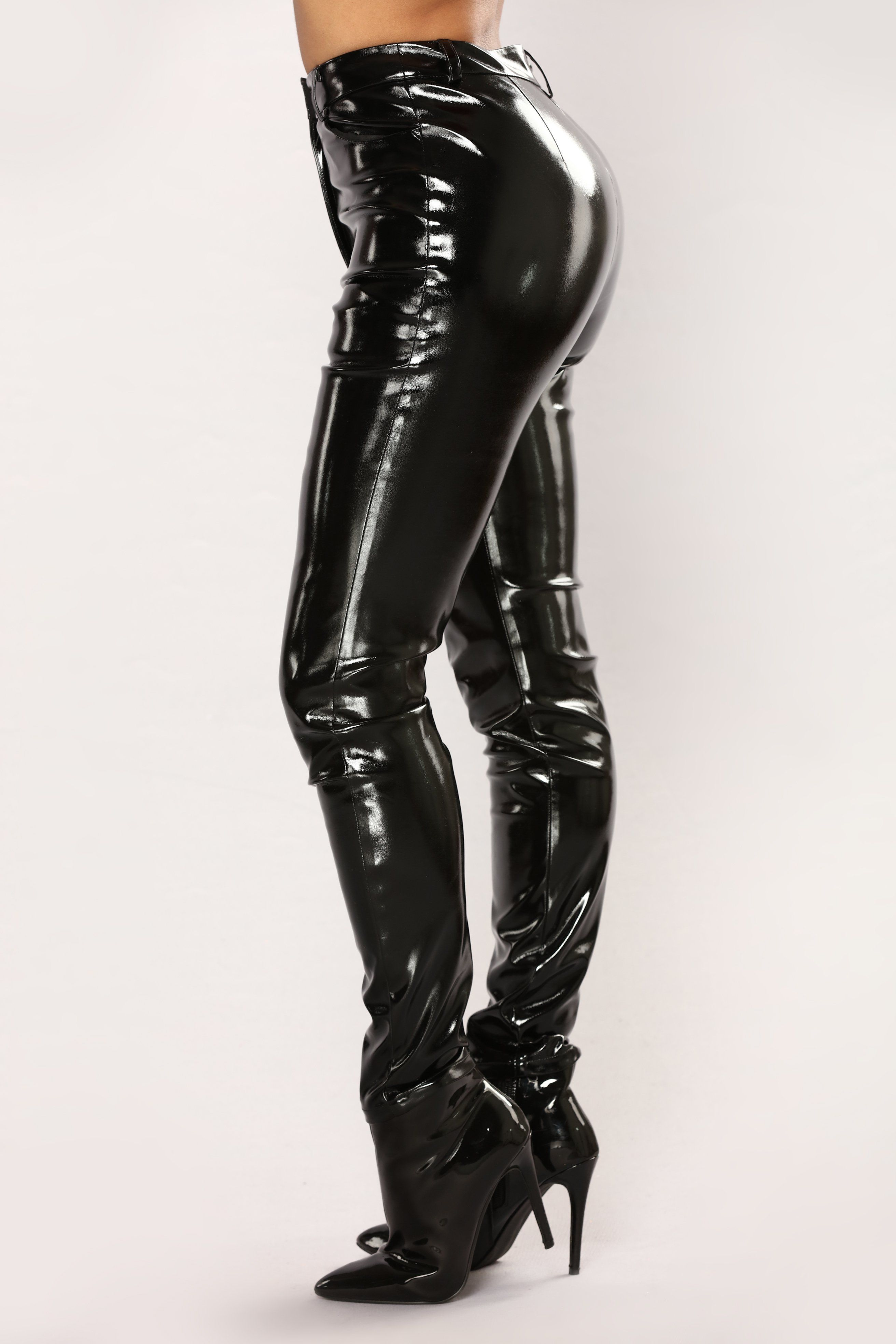 bbb99f3262213 You Get Pretty Wild Latex Pants - Black in 2019   Drawing   Latex ...