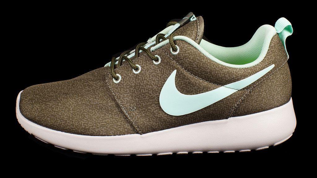 Nike Roshe Run Print- Iron 3c255b6cd18b