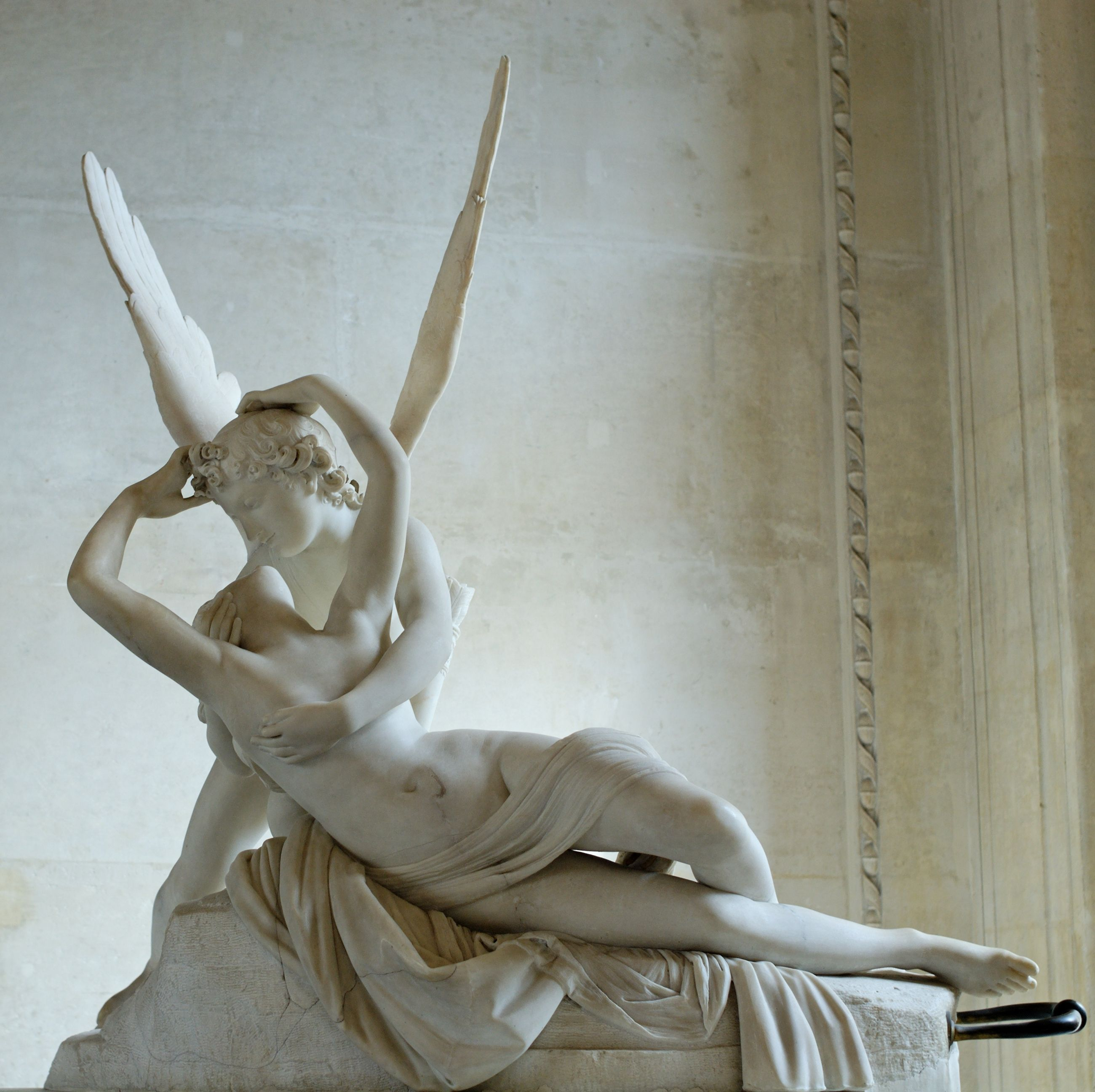 Cupid And Psyche Neoclassical Art Cupid And Psyche Antonio Canova