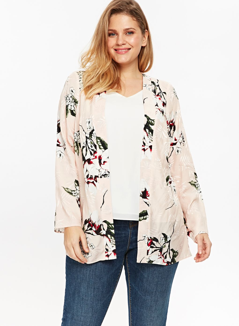 Womens Butterfly Twinkle Kimono Blouse EVANS Good Selling For Sale p717MDM