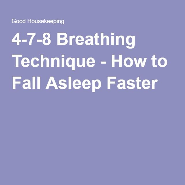 The Breathing Trick That Puts You To Sleep In Seconds How To