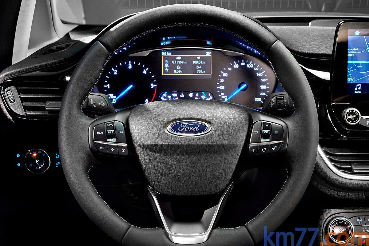 Ford Fiesta Gama Fiesta Titanium Turismo Interior Volante 3