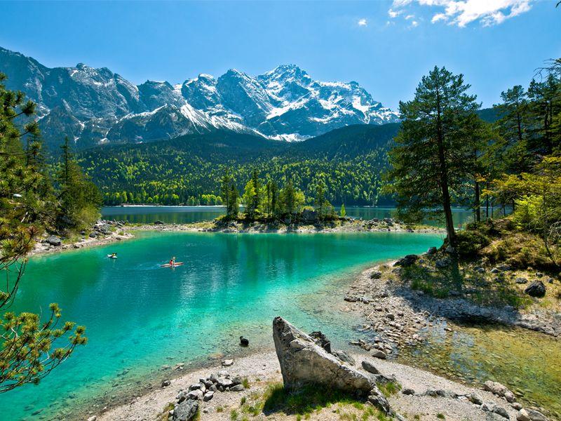 Bavaria Zugspitz Region Garmisch Partenkirchen Zugspitze Germany Travel Vacation Trips