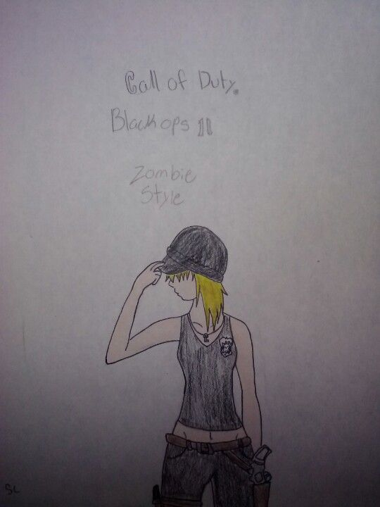 call of duty black ops 2 drawings