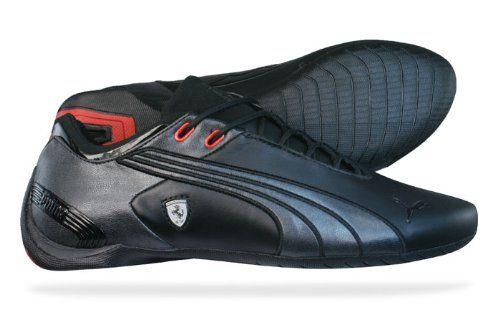 37ec06db93fb9a Puma Future Cat M2 SF Ferrari Mens Leather sneakers   Shoes - Black ...