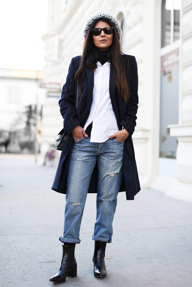 Fashion-landscape.com | Boyfriend Jeans + Chelsea Boots | fashion inspiration | Pinterest ...