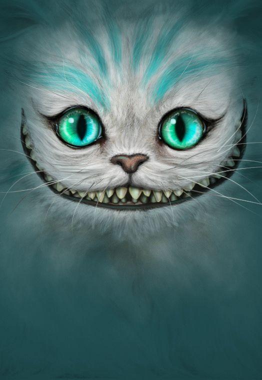 """"""" Non sono pazzo. La mia realtà è solo diversa dalla tua """" From to """" Alice in Wonderland """" ( Stregatto )"""