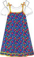 Bright sun dress