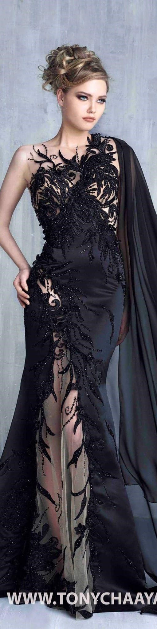 Tony chaaya couture sxy gown pinterest couture gowns