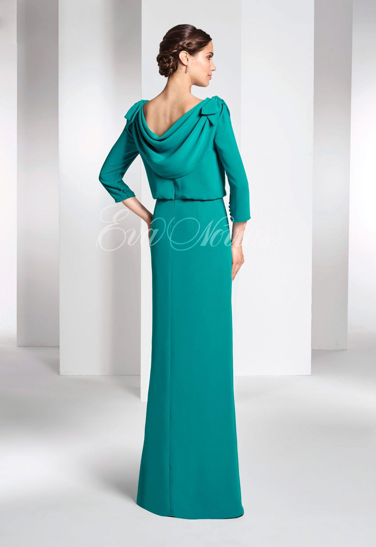 Vestido de fiesta Paloma Camacho Modelo 2780 - Eva Novias | i love ...