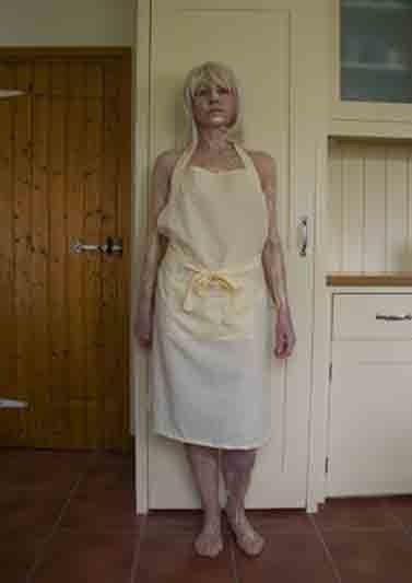 Yellow apron. Giclee print 2013