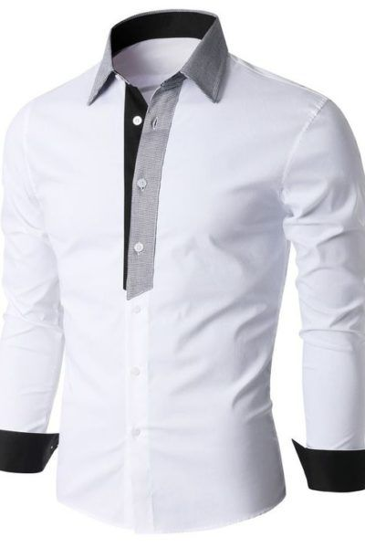 Men S Shirt Pattern Free Mens Shirt Pattern Men Shirt Style