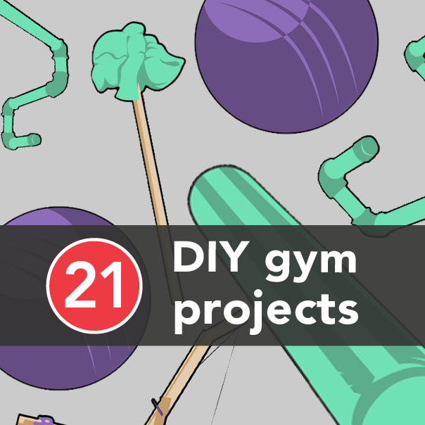 21 DIY Gym Equipment Projects to Make at Home