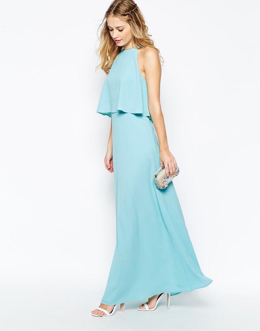 Image 4 of Jarlo Yara Maxi Dress With Overlay | Kathy Wedding ...
